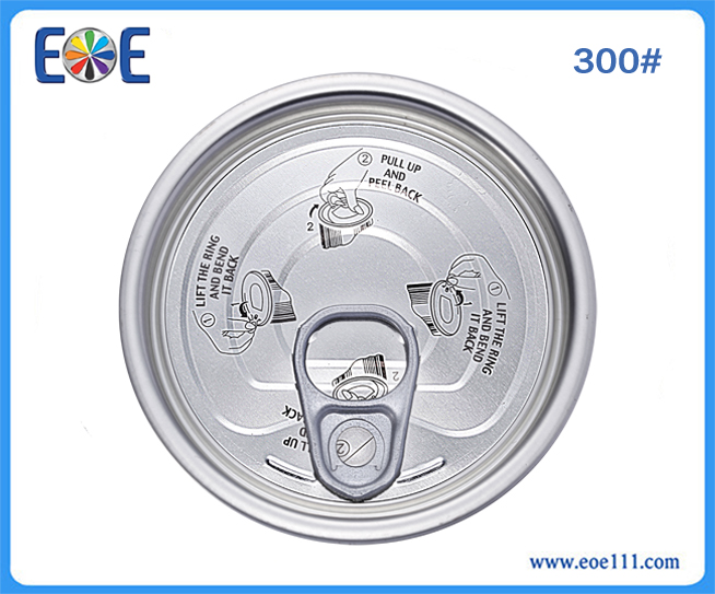 300#陈皮鸭罐头盖:suitable for packing all kinds of canned foods (like tuna fish, tomato paste, meat, fruit,  vegetable,etc.), dry foods, chemical / industrial lube,farm products,etc.