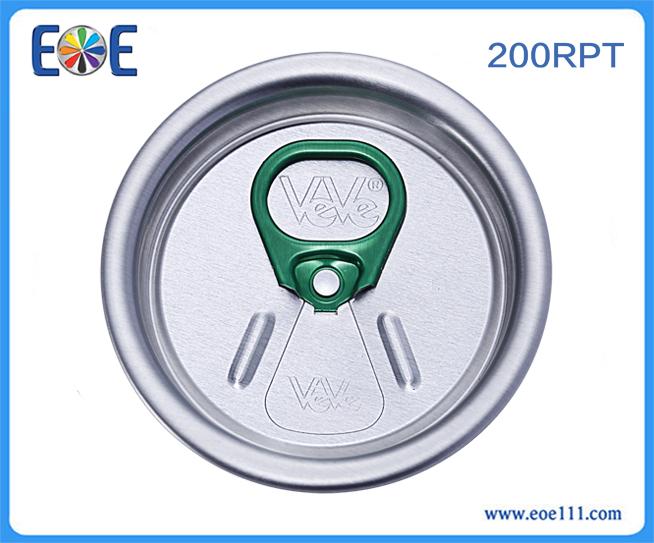 200#RPT种子盖:适用于各种饮料,如: 果汁,碳酸饮料,功能饮料,啤酒等。