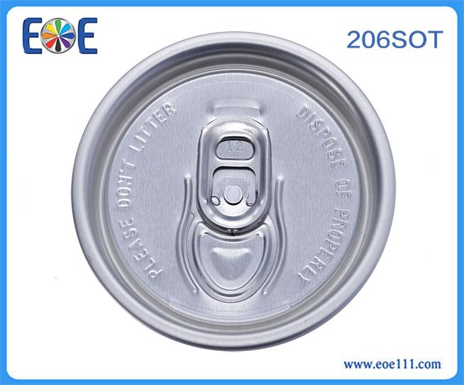 206#汽水罐盖:适用于各种饮料,如: 果汁,碳酸饮料,功能饮料,啤酒等。
