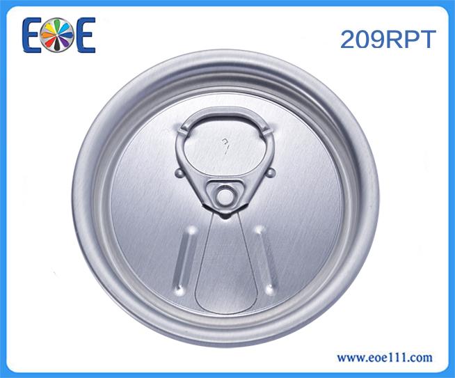 209#汽水罐盖子:外白/ 内黄(可根据客户具体要求定制) 适用于各种饮料,如: 果汁,碳酸饮料,功能饮料,啤酒等。
