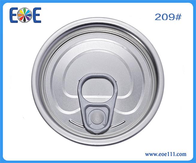 209#蔬菜罐头铁盖:适用于各种罐装食品(如金枪鱼,番茄酱,肉,水果,蔬菜等),干货,工业润滑油,农产品等。